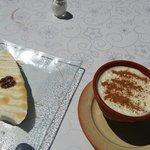 Magníficos postres! Pastel de cuajada y arroz con leche. Georgeuos desserts!