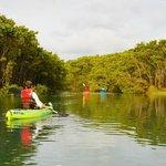 Kayaking near Carate