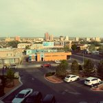 View of downtown Albuquerque in the morning.