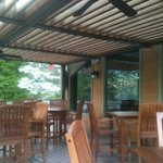 Lakeview outdoor dining