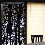 Haitian window sculpture