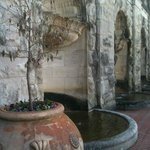 Biltmore Wall with fountains