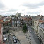 Praca da Batalha-вид с террасы на 6 этаже