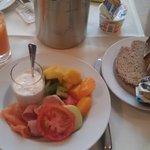 Breakfast at St. Gotthard