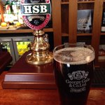 First pint of the day, a gorgeous HSB