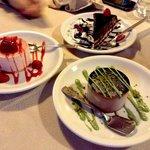 Alcuni dessert del ristorante