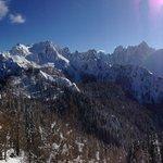 Mount Lussari and the Julian Alps.  Just outside your door.