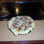 Okonomiyaki made by me