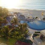 Pool/ Beach at Sunrise