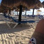 Palapas on beach....Ahhhhh