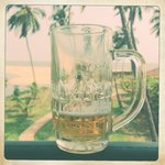 Beer and the Arabian Sea