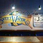 wall art at Moe's