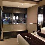 Second floor bedroom of penthouse suite