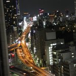 ANA Intercontinental Tokyo - Amazing view from the room