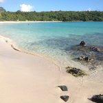 Right side of pata prieta (secret beach)