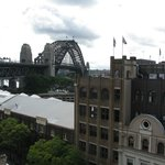 Harbor Bridge from Holiday Inn Old Sydney Roof Top