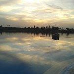 Piscina y Nilo