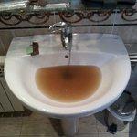 Agua del lavabo