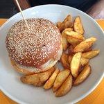 """Le """"burger Monsieur"""""""