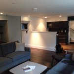 Living room - 2 bedrooms apartment (basement)