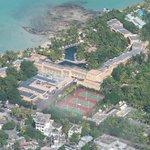 Vue du ciel avec Island Wings Mauritius