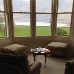 Nuestra vista desde el Room Loch Torridan