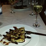 Crepes and cava!