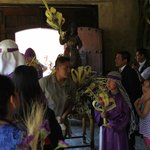 Palm Sunday at Casa Santo Domingo