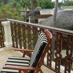 awesome balcony..