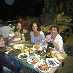 Cena con amigotes