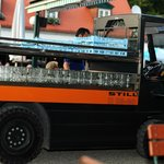 Hirschgarten requires a truck to handle beer glass collection