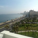 The view from my room's balcony at Cecil Sofitel, Alexandria