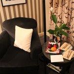 cadeira no quarto