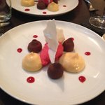 le dessert...
