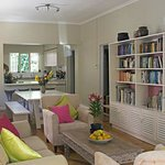 A place to read, meet guests and feel welcome and at home