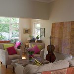 A warm, bright welcoming guest lounge awaits you! Fast paced WIFI throughout the house