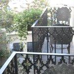 Neighbor balcony too close
