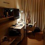 Mini-bar, TV, fridge, desk...