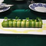 avocado and crabmeat canelonni