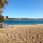 Relax in shelly beach