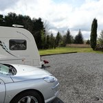 Touring pitch at Glentrool Holiday Park