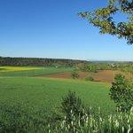Fields around the Ferme
