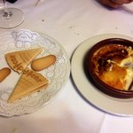 Crema catalana e biscottini