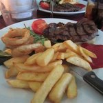 Steak and Chips - part of the Theatre Specials menu at Demiro's.