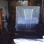 all beds have a mosquito net - this was my sister in law's room