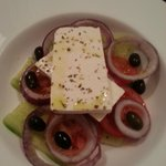 Room service - Greek salad - very good!