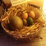 Beinh vegan don't get eggs often.so getting these cruelty free eggs fresh every morning from the