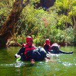 Paddling in Red Gorge