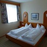 das Zimmer, guter Schlafkomfort