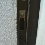 Defective exterior door